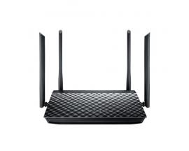 ASUS RT-AC1200G+ router inalámbrico Doble banda (2,4 GHz / 5 GHz) Gigabit Ethernet Negro - Imagen 1