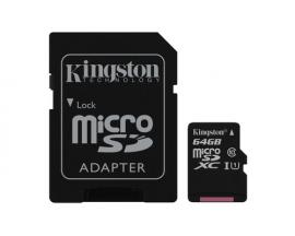 Kingston Technology Canvas Select memoria flash 64 GB MicroSDXC Clase 10 UHS-I - Imagen 1