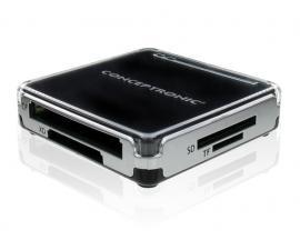 Conceptronic CMULTIRWU2 lector de tarjeta Negro, Plata USB 2.0 - Imagen 1