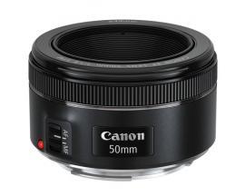 Canon EF 50mm f/1.8 STM SLR Teleobjetivo Negro - Imagen 1