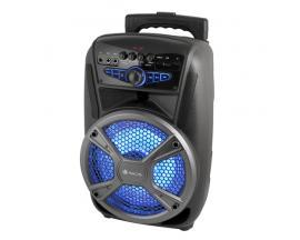 NGS Wild Mambo 35 W Sistema de megafonía con ruedas Negro, Gris - Imagen 1
