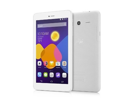 "Tableta ALCATEL onetouch Pixi 3 - 17,8 cm (7"") - 1 GB - MediaTel Cortex A7 MT8127 Cuatro Núcleos (4 Core) 1,10 GHz - 8 GB -"