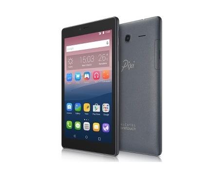 """Tableta ALCATEL onetouch Pixi 4 - 17,8 cm (7"""") - MediaTel Cortex A7 MT8321 Cuatro Núcleos (4 Core) 1,30 GHz - Android 5.0 Lo"""