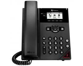 VVX 150 teléfono IP Negro Terminal con conexión por cable LCD 2 líneas - Imagen 1