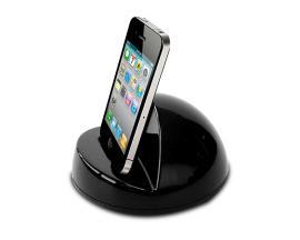 PHIDOCK Reproductor de MP3/Smartphone Negro estación dock para móvil - Imagen 1