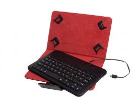 PHKEYCASE7-8 teclado para móvil Negro, Rojo - Imagen 1