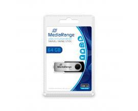 64GB USB 2.0 unidad flash USB USB Type-A / Micro-USB Negro, Plata - Imagen 1
