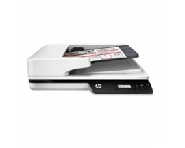 Escaner plano hp scanjet pro 3500 f1 25ppm/ 1200ppp/ duplex/ usb 3.0/ adf 50hojas - Imagen 1