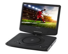 "Denver MT-783NB Reproductor de DVD portátil Convertible Negro 17,8 cm (7"") - Imagen 1"