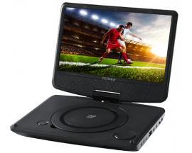 "Denver MT-983NB Reproductor de DVD portátil Convertible Negro 22,9 cm (9"") - Imagen 1"