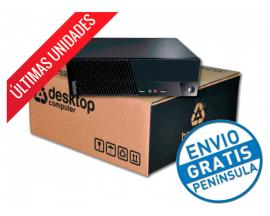 Lenovo ThinkCentre M73 SFF Intel Core i3 4130 3.4 GHz. · 4 Gb. DDR3 RAM · 500 Gb. SATA · COA Windows 8.1 Pro actualizado a Windo