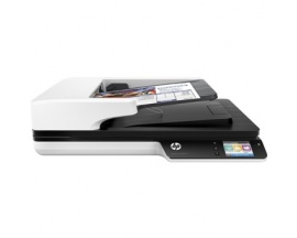 Escaner plano hp scanjet pro 4500 fn1 30ppm/ 1200ppp/ red/ wifi/ usb/ duplex/ adf 50hojas - Imagen 1