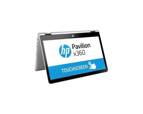 "Portatil hp pavilion x360 14-ba002ns i5-7200u 14"" tactil 8gb / 1tb / wifi / bt / w10 / plata - Imagen 1"