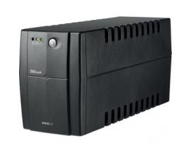 SAI de línea interactiva Trust Powertron 17681 - 600 VA/300 W - Torre - Plomo Ácido - 3 Minuto(s) Tiempo en espera - 220 V AC En