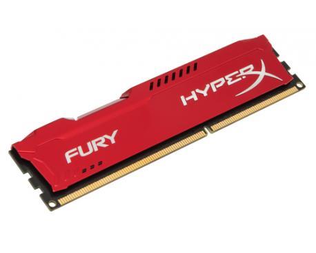 HyperX FURY Red 4GB 1333MHz DDR3 módulo de memoria - Imagen 1