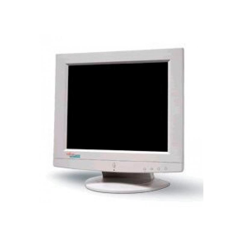 Fujitsu X17-5 TFT 17 '' con Altavoces · 5:4 · Resolución 1280x1024 · 1x VGA - Defectos estéticos menores en carcasa. · Arañazo
