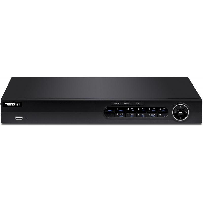 TV-NVR416 Grabadore de vídeo en red (NVR) 1U Negro - Imagen 1