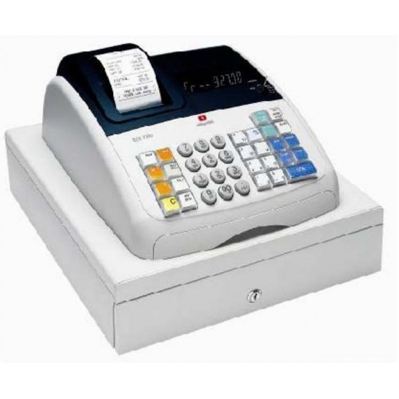 ECR 7700 caja registradora 400 PLUs Inyección de tinta térmica LCD - Imagen 1