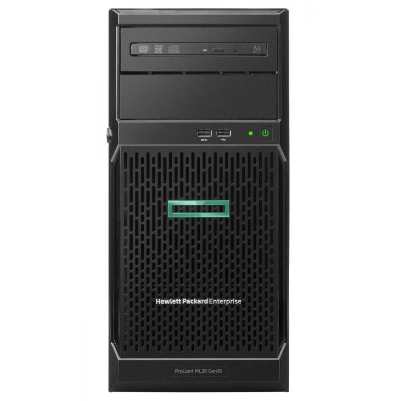ProLiant ML30 Gen10 + Windows Server 2019 Standard ROK servidor 3,3 GHz Intel Xeon E E-2124 Torre (4U) 350 W - Imagen 1
