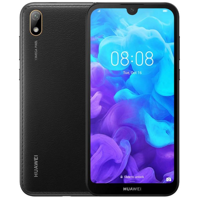 "Y5 2019 14,5 cm (5.71"") 2 GB 16 GB SIM doble 4G Negro 3020 mAh - Imagen 1"