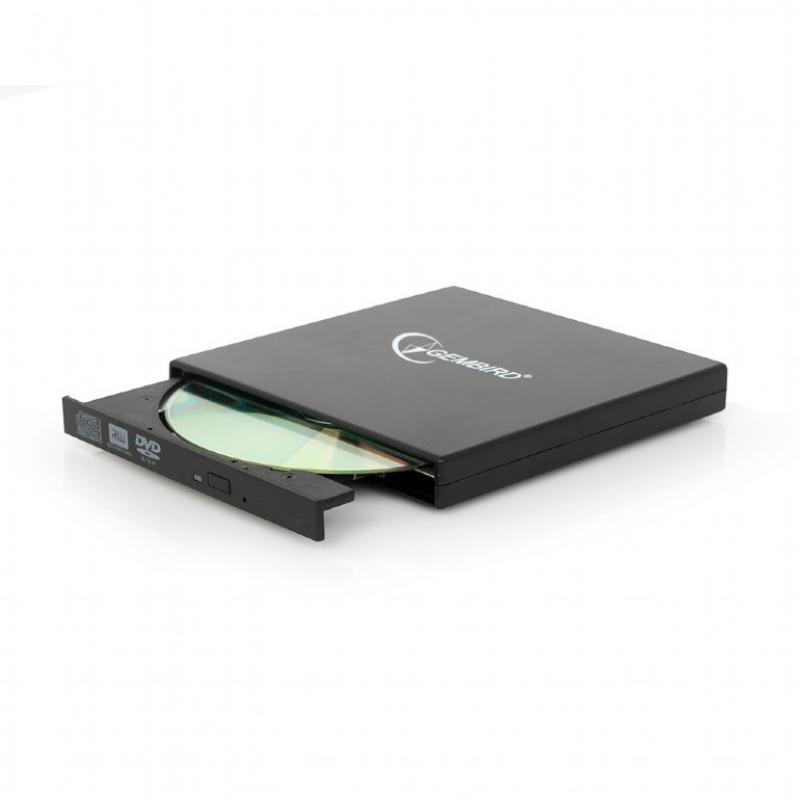 DVD-USB-02 unidad de disco óptico Negro DVD±RW - Imagen 1