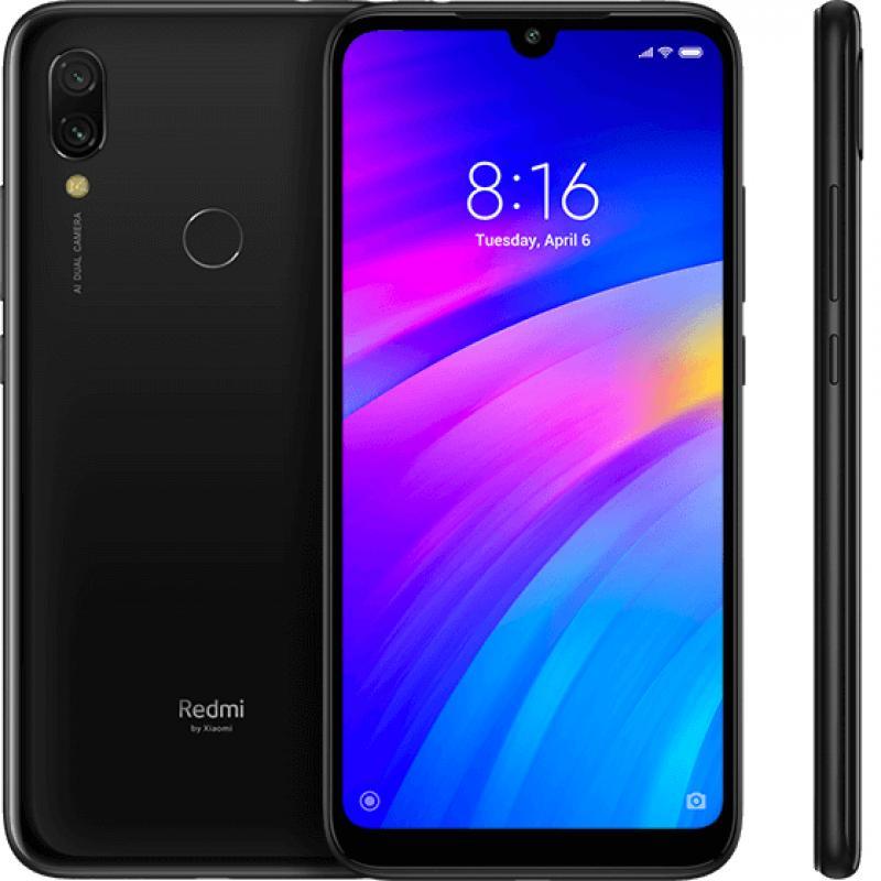 "Redmi 7 15,9 cm (6.26"") 3 GB 32 GB SIM doble 4G Black 4000 mAh - Imagen 1"