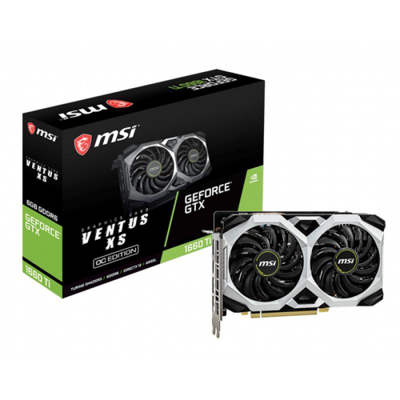MSI V375-032R tarjeta gráfica GeForce GTX 1660 Ti 6 GB GDDR6 - Imagen 1