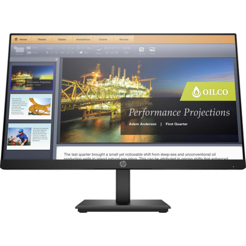 "HP P224 LED display 54,6 cm (21.5"") Full HD Plana Negro - Imagen 1"