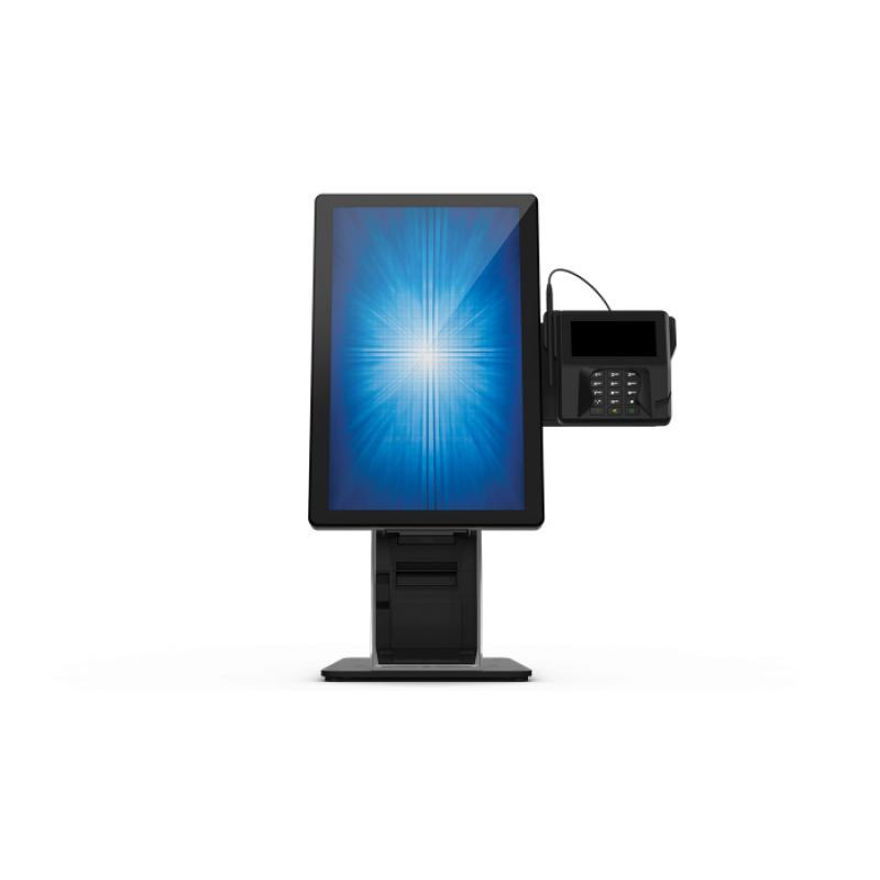 """E796783 soporte de pie para pantalla plana 55,9 cm (22"""") Soporte del panel plano y fijo Negro, Plata - Imagen 1"""