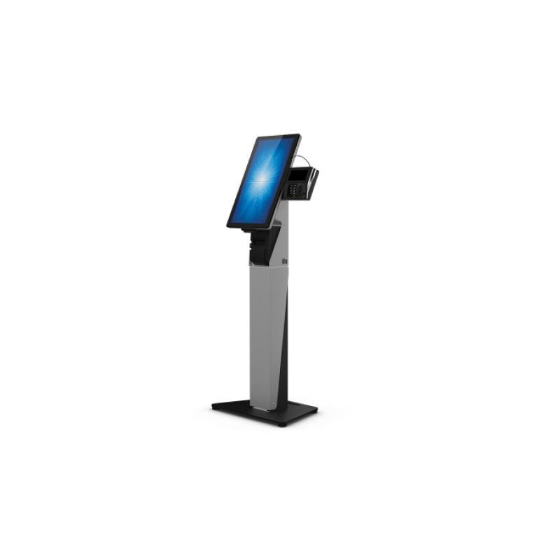 """E797162 soporte de pie para pantalla plana 55,9 cm (22"""") Soporte del panel plano y fijo Negro, Plata - Imagen 1"""