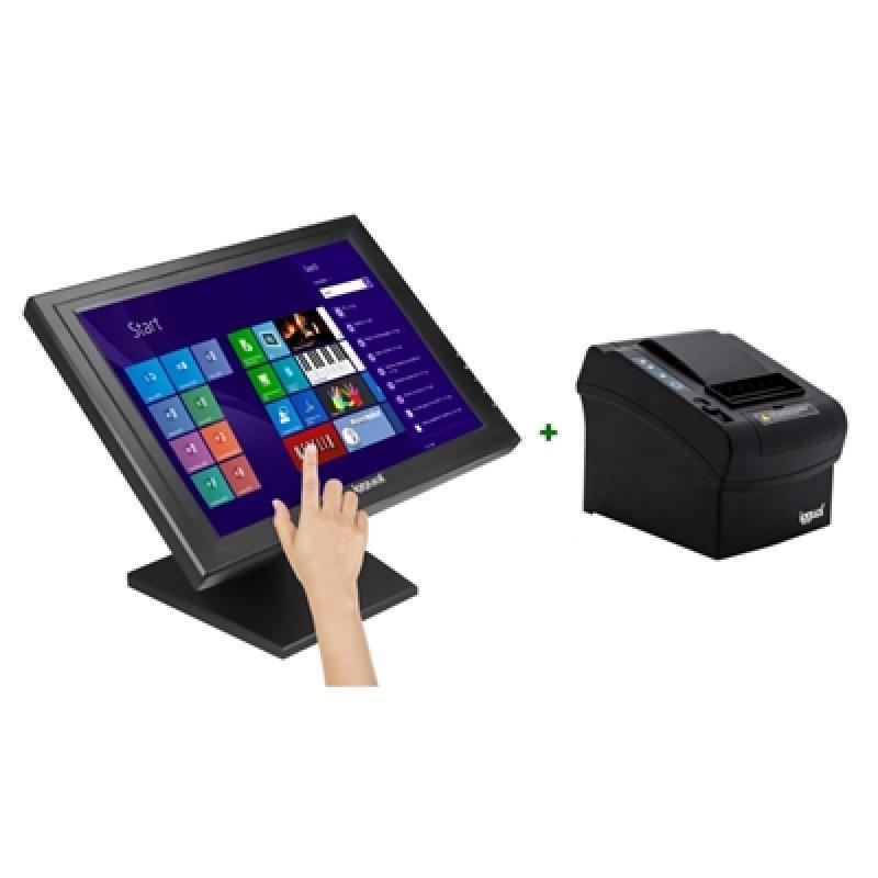 "iggual IGG316214 monitor pantalla táctil 43,2 cm (17"") 1280 x 1024 Pixeles Negro - Imagen 1"
