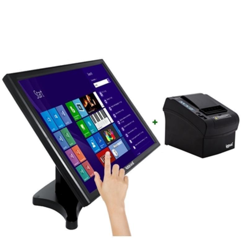 "iggual IGG316191 monitor pantalla táctil 48,3 cm (19"") 1280 x 1024 Pixeles Negro - Imagen 1"