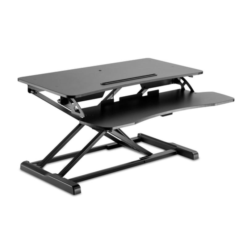V7 Estación de trabajo de escritorio para trabajar sentado o de pie Essential - Imagen 1