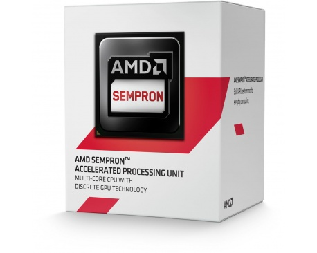 Procesador AMD Sempron 2650 - Dual-core (2 Core) 1,45 GHz - Zócalo FS1 - 1 MB - Procesamiento de 64 bits - 28 nm - AMD Radeon HD