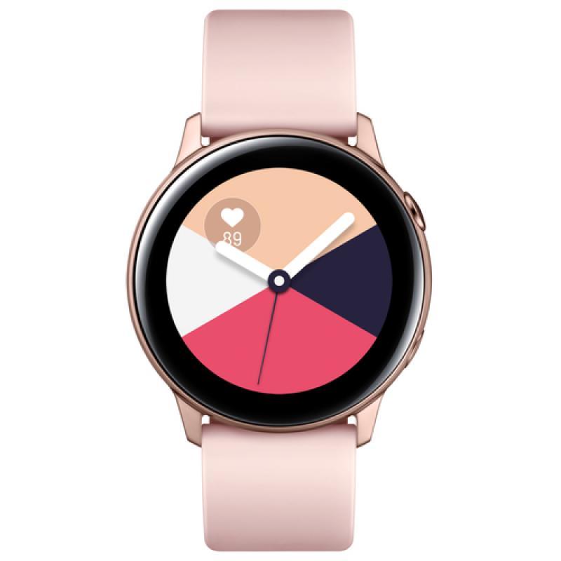 "Samsung SM-R500 reloj inteligente Oro rosa SAMOLED 2,79 cm (1.1"") GPS (satélite) - Imagen 1"