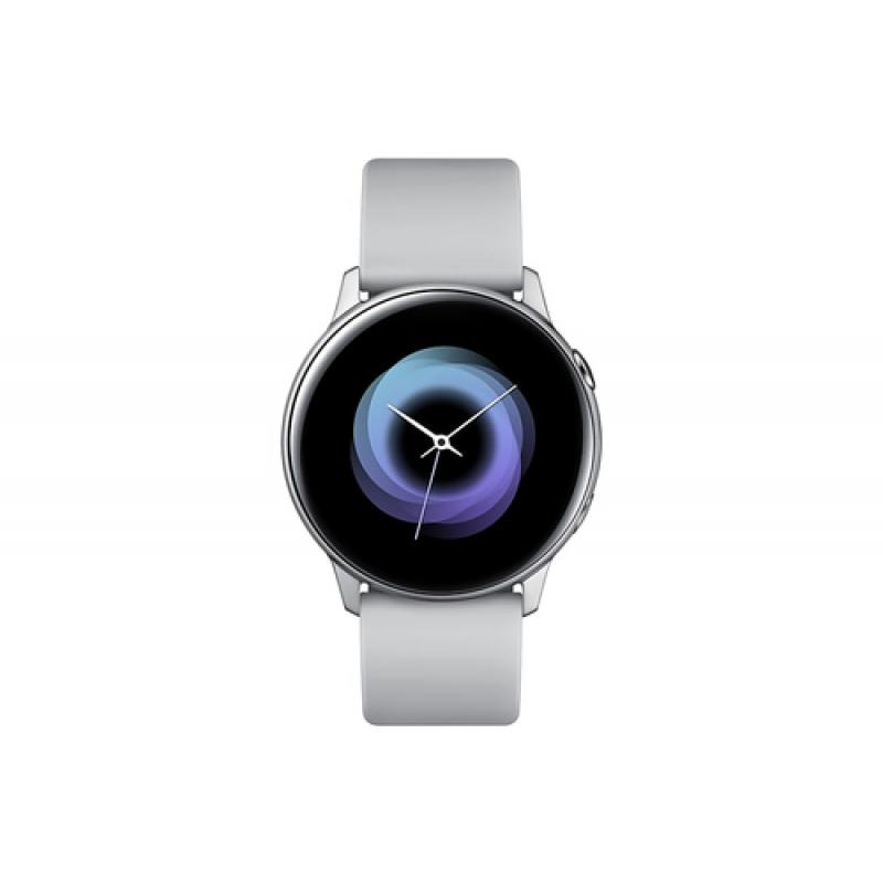 "Samsung Galaxy Watch Active reloj inteligente Plata SAMOLED 2,79 cm (1.1"") GPS (satélite) - Imagen 1"