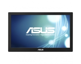 """ASUS MB168B 15.6"""" HD Negro, Plata pantalla para PC"""
