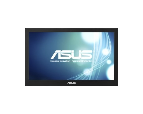 "Monitor LCD Asus MB168B - 39,6 cm (15,6"") - LED - 16:9 - 11 ms - 1366 x 768 - 200 cd/m² - 500:1 - HD - USB - 5 W - Negr"