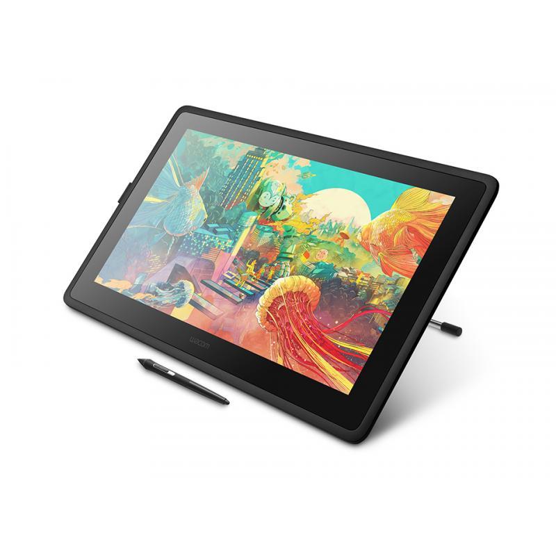 Cintiq DTK2260K0A tableta digitalizadora Negro - Imagen 1