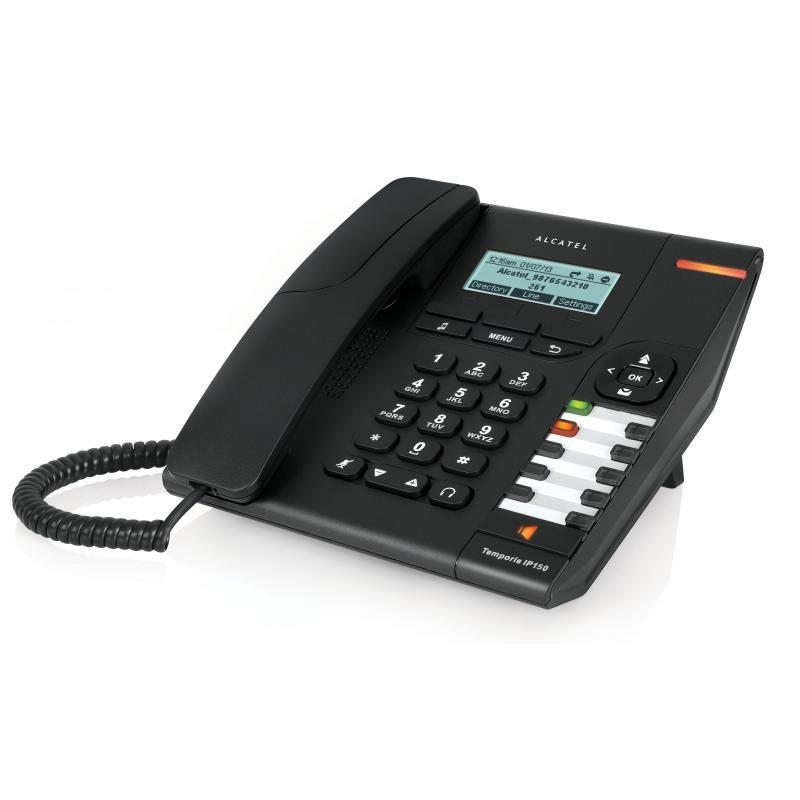 Temporis IP150 teléfono IP Negro Terminal con conexión por cable - Imagen 1