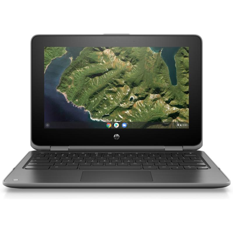 "HP Chromebook x360 11 G2 EE Gris 29,5 cm (11.6"") 1366 x 768 Pixeles Pantalla táctil Intel® Celeron® N4000 4 GB LPDDR4-SDRAM 32 G"