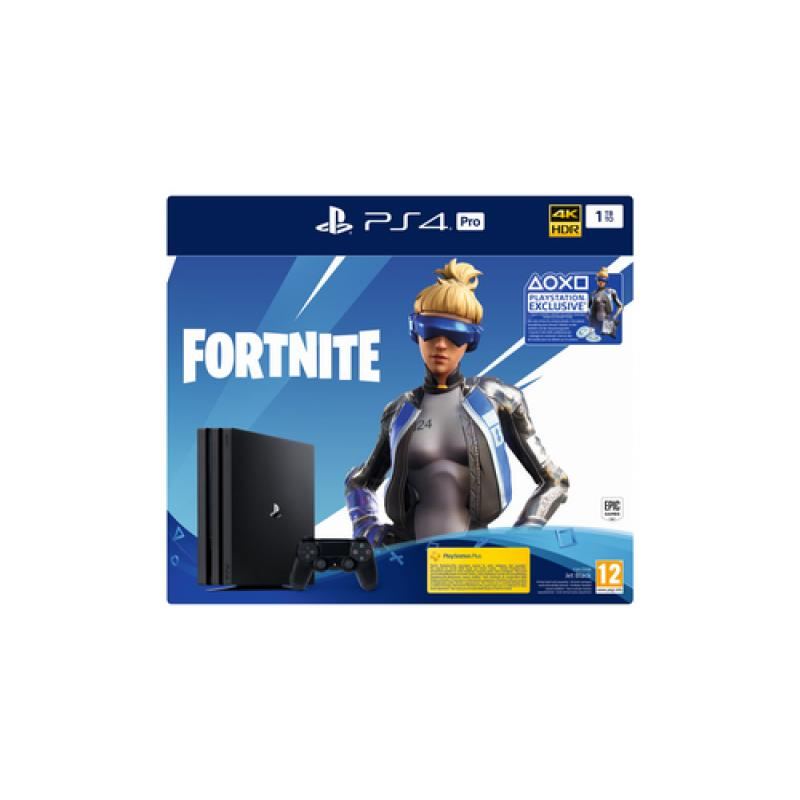 Sony PS4 Pro 1TB Gamma + Fortnite VCH (2019) Negro 1000 GB Wifi - Imagen 1