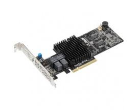 Controlador SAS Asus PIKE II 3108-8i/16PD - 12Gb/s SAS, Serie ATA/600 - PCI Express 3.0 x8 - Tarjeta Plug-in - 1 GB - Compatibil