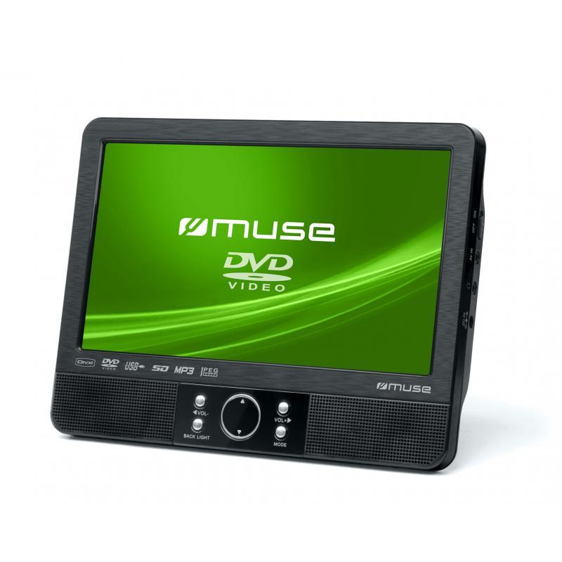 """M-990 CVB Portable DVD player Mesa Negro 22,9 cm (9"""") - Imagen 1"""