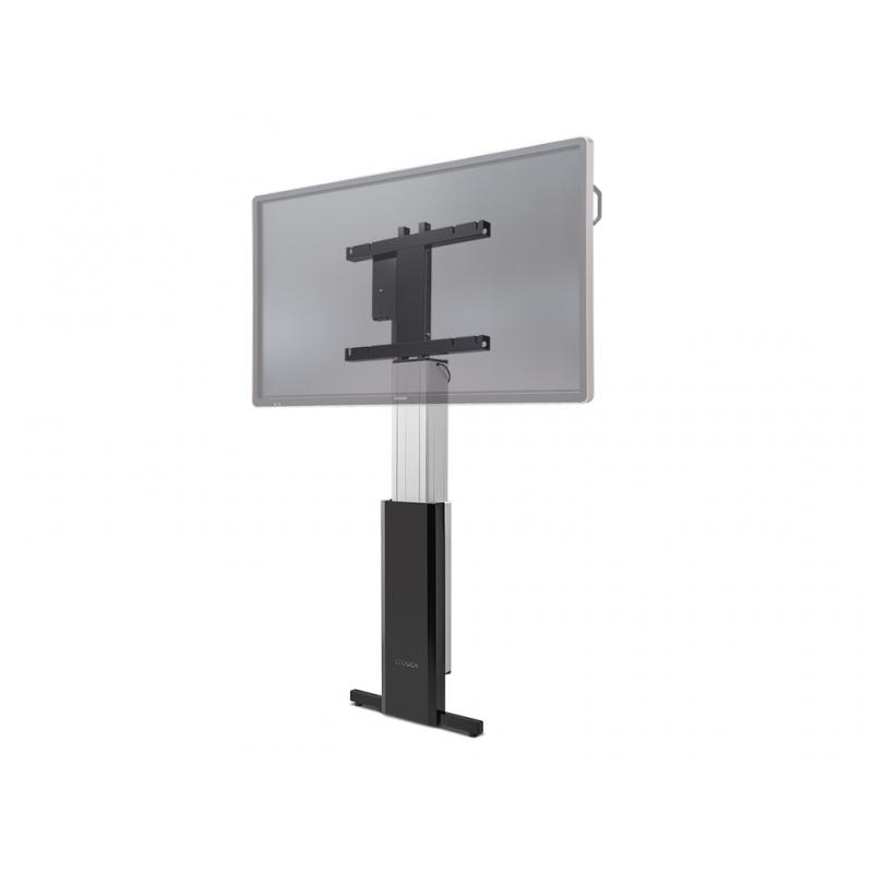 "10080250 86"" Portable flat panel floor stand Aluminio, Negro soporte de pie para pantalla plana - Imagen 1"