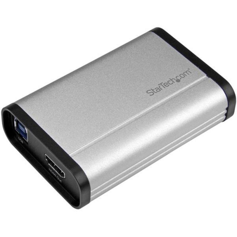 StarTech.com Capturadora de Vídeo HDMI de Alto Rendimiento por USB 3.0 - 1080p 60fps - Aluminio - Imagen 1