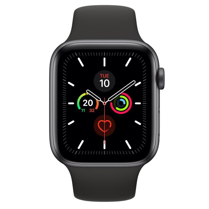 Watch Series 5 reloj inteligente Gris OLED GPS (satélite) - Imagen 1