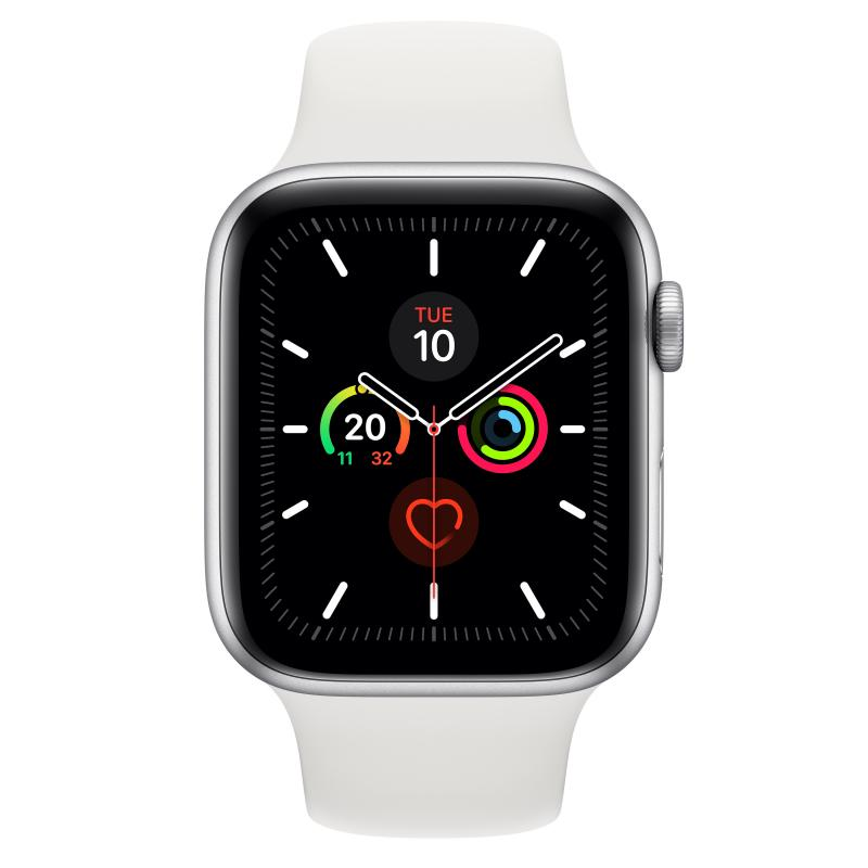 Watch Series 5 reloj inteligente Plata OLED GPS (satélite) - Imagen 1