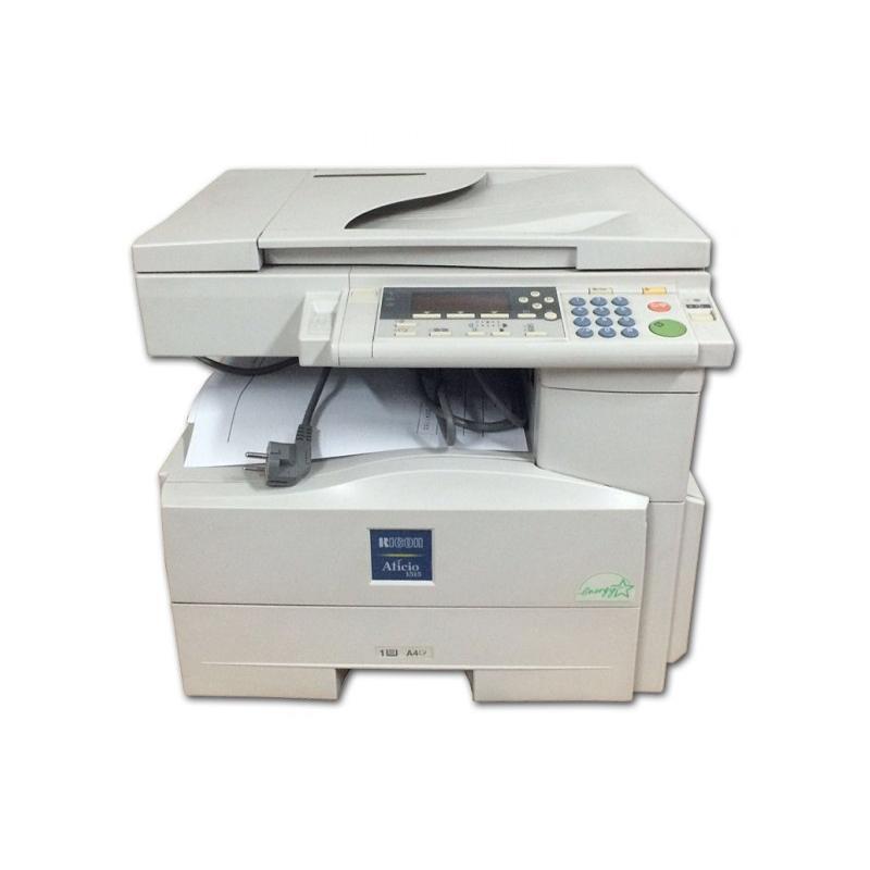 Ricoh Aficio 1515 Velocidad: Hasta 15 ppm - Resolución: 600 x 600 ppp - Memoria: 16 Mb. - Bandejas: 1x250 hojas, 1x100 hojas - T