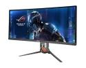"""ASUS PG348Q 34"""" Ultra-Wide Quad HD LED Curva Aluminio, Negro pantalla para PC"""